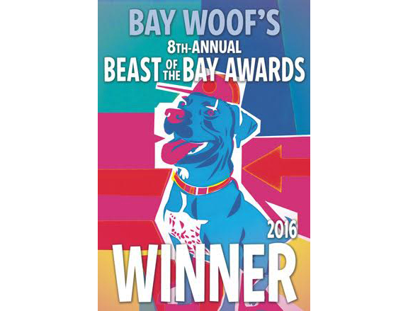 Bay Woof's 2016 Beast of the Bay Award